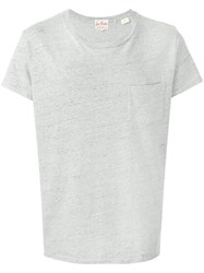 Levi's Vintage Clothing Colour Block T Shirt Grey