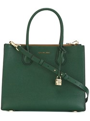 Michael Michael Kors Medium 'Mercer Convertible' Tote Green