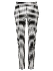 Adrianna Papell Check Trouser Multi Coloured