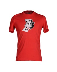 Joe Rivetto T Shirts Red