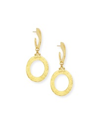 Hoopla 24K Gold Single Drop Infinity Earrings Gurhan