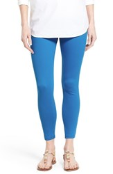 Women's Hue 'Super Smooth' Ankle Leggings Electric Blue