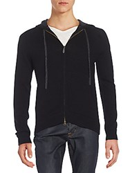 Saks Fifth Avenue Cashmere Hoodie Black