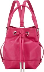 Opening Ceremony Izzy Convertible Mini Backpack Red