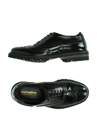 Bepositive Lace Up Shoes Black