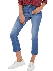 Jaeger Donna Ida For Mia Ankle Kick Jeans Bright Blue