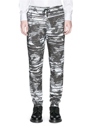 Mcq By Alexander Mcqueen Screen Camouflage Print Jogging Pants Black