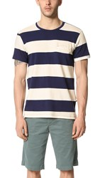 Sol Angeles Rugby Stripe Welt Tee Natural