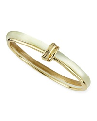 Alexis Bittar Vert D'eau Liquid Metal Lucite Paired Bangle Ivory