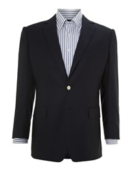 Chester Barrie Classic Single Breasted Blazer Navy