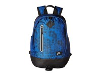 Nike Young Athletes Cheyenne Print Backpack Game Royal Black Metallic Silver Backpack Bags