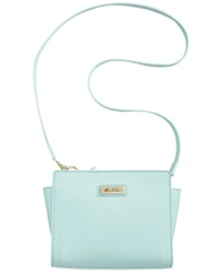 Marc Fisher Day By Day Top Zip Crossbody Mint Green