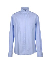 Michael Bastian Shirts Long Sleeve Shirts Men Sky Blue