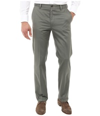Dockers Signature Khaki D1 Slim Fit Flat Front Oregano Men's Dress Pants Olive