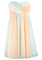 Laona Summer Dress Multi Pastelpale Mint Multicoloured