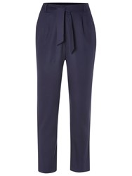 White Stuff Pull On Beach Trousers Navy