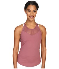 Alo Yoga Elite Tank Top Grenache Women's Sleeveless Burgundy