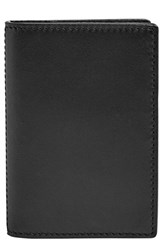 Men's Skagen 'Kvarter' Folding Card Case Black