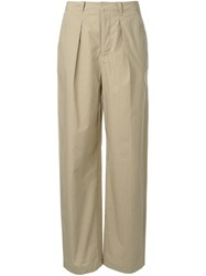 Rito Straight Leg Trousers Brown