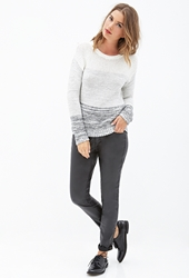 Forever 21 Marled Ombre Sweater