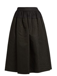 Vivienne Westwood Ream High Waisted Jacquard Skirt Black