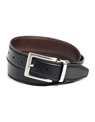 Nautica Reversible Leather Belt Black Brown