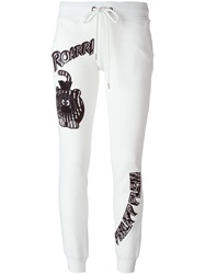 Philipp Plein 'Reality' Track Pant White