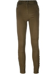 Belstaff 'Spinach' Skinny Trousers Green