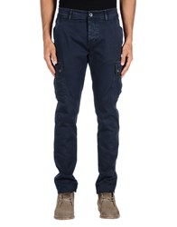Camouflage Ar And J. Trousers Casual Trousers Men Dark Blue