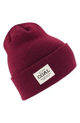 Coal Women's 'The Uniform' Beanie Burgundy
