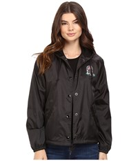 Obey Slacker Vibes Jacket Black Women's Coat