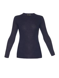 Proenza Schouler Open Back Long Sleeved Knit Sweater