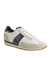 Tom Ford Orford Leather Trim Sneaker Male