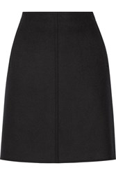 Tomas Maier Wool Blend Skirt Black