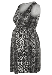 Mama Licious Hit Dot Cocktail Dress Party Dress Snow White