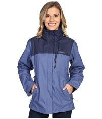 Columbia Pouration Jacket Bluebell Nocturnal Women's Coat