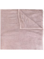 Faliero Sarti 'Tobias' Scarf Pink And Purple