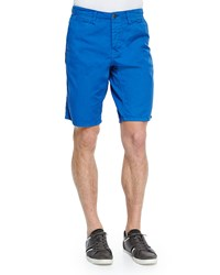 Original Paperbacks Cotton Twill Shorts Royal Blue