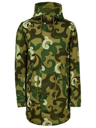 Pretty Green Hartley Parka Khaki