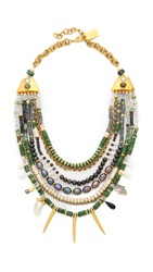 Lizzie Fortunato Turquoise And Riad Necklace Blue Green