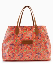 Polo Ralph Lauren Golf Zimbali Print Tote Bag Orange