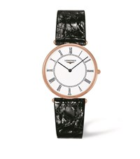 Longines Agassiz Collection Quartz Watch Unisex White