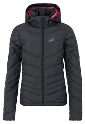 Jack Wolfskin Selenium Down Jacket Ebony Grey