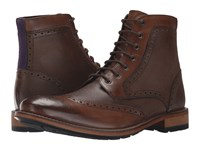 Ted Baker Sealls 3 Brown Leather Men's Lace Up Boots
