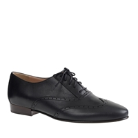 J.Crew Leather Wing Tip Oxfords