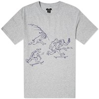 Sasquatchfabrix. Skate Animals Tee Grey