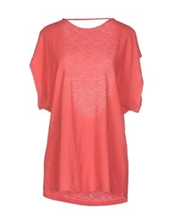 Atelier Fixdesign Topwear T Shirts Women Coral