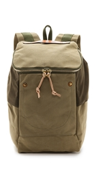 Southern Field Industries Waxed Canvas Px Backpack Oak Tan