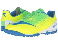 Diadora Dd Na4 R Tf Yellow Fluo Green Men's Soccer Shoes Multi