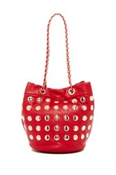 Deux Lux Pipa Bucket Bag Red